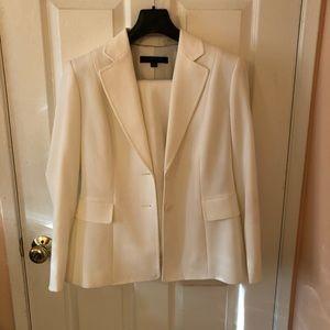 Anne Klein Cream Pant Suit NWOT